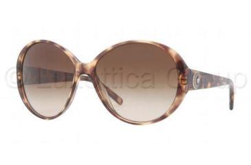Versace VE4239 Sunglasses 967/13-5815 - Spotted Brown Frame, Brown Gradient Lenses