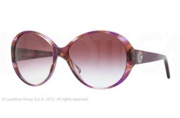 Versace VE4239 Bifocal Prescription Sunglasses VE4239-968-8H-58 - Lens Diameter 58 mm, Frame Color Striped Violet