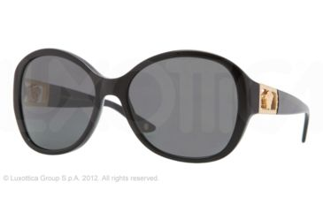 Versace VE4241B Progressive Prescription Sunglasses VE4241B-GB1-87-58 - Lens Diameter 58 mm, Frame Color Black