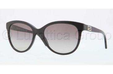 Versace VE4246B Sunglasses GB1/11-5618 - Black Frame, Grey Gradient Lenses