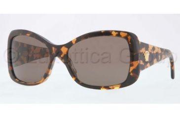 Versace VE4247 Sunglasses 998/73-5917 - Amber Frame, Havana Brown Lenses