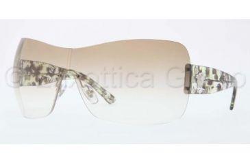 Versace VE4248 Sunglasses 502113-0137 - Silver Frame, Brown Gradeint Lenses