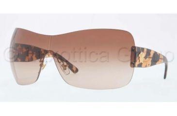 Versace VE4248 Sunglasses 998/13-0137 - Gold Frame, Brown Gradient Lenses