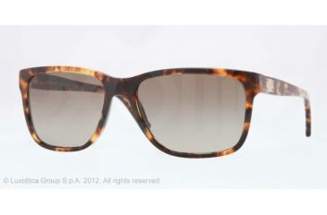 Versace VE4249 Single Vision Prescription Sunglasses VE4249-954-13-58 - Lens Diameter 58 mm, Lens Diameter 58 mm, Frame Color Striped Havana