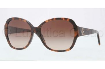 Versace VE4252 Sunglasses 944/13-5716 - Havana Frame, Brown Gradient Lenses