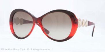Versace VE4256B Bifocal Prescription Sunglasses VE4256B-507513-58 - Lens Diameter 58 mm, Frame Color Dark Bordeaux/red