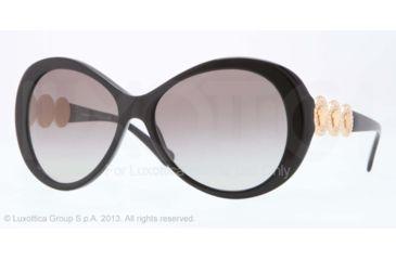 Versace VE4256B Bifocal Prescription Sunglasses VE4256B-GB1-11-58 - Lens Diameter 58 mm, Frame Color Black
