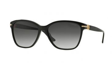 1dddc79071677 Versace VE4290BA Sunglasses GB1 8G-57 - Black Frame