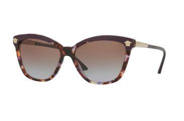 4d18faf19e Versace VE4313 Sunglasses 517968-57 - Eggplant violet Havana Frame
