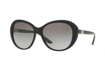 Versace 4324B Sonnenbrille Schwarz GB1/11 57mm d7bLyo2Y9
