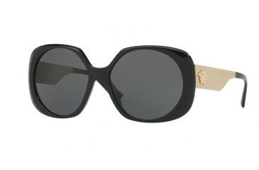 5df2a41e24856 Versace VE4331 Sunglasses GB1 87-57 - Black Frame