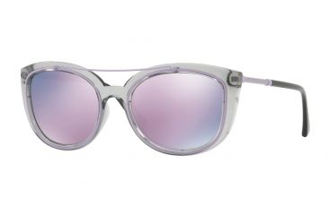 1bc4b863b70e Versace VE4336 Sunglasses 52545R-56 - Transparent Grey Frame