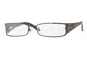 Versus VR 7071 Eyeglasses Styles Dark Brown Frame w/Non-Rx 49 mm Diameter Lenses