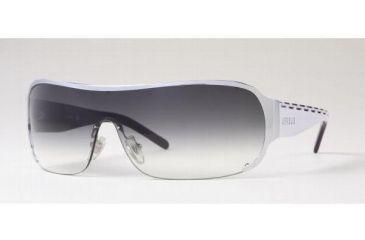 Versus VR5033-10008G-0142 Sunglasses Silver Frame / Gray Gradient Lenses