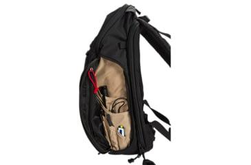 Vertx EDC Gamut 18 Hour Backpack, Black w/Red Trim VTX5015BKR