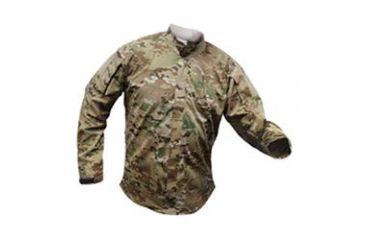 Vertx Gunfighter Multicam Storm Long Sleeve Shirt, MultiCam, Size 2XL VTX8420MC-2XL