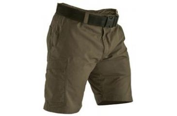 Vertx Khaki Phantom Mini Ripstop Mens Short 65% Poly/35% Cotton, 36-REG VTX8030KH-36-REG