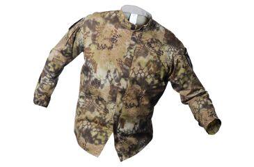 Vertx L/S Gunfighter Kryptek Highland Nyco Ripstop W/CR 50%Nylon/50% Cotton, Highlander, SMALL VTX8220KHL-SMALL