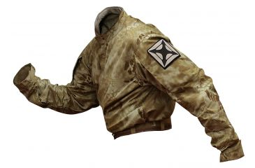 Vertx L/S Gunfighter Kryptek Nomad Nyco Ripstop W/CRF 50% Nylon/50% Cotton, Nomad, LARGE VTX8220KNM-LARGE