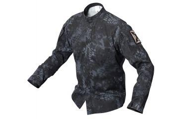 Vertx L/S Gunfighter Kryptek Typhon 50% Nylon/50% Cotton Ripstop w/CRF, Typhon, LARGE VTX8220KTP-LARGE