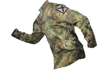 Vertx L/S Gunfighter Mandrake Highland Nyco Ripstop W/CRF 50% Nylon/50% Cotton, Highlander, LARGE VTX8220KMD-LARGE