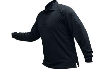 Vertx Men's Coldblack Long Sleeve Polo Shirt, Navy, Size 2XL VTX4020NVP-2XL