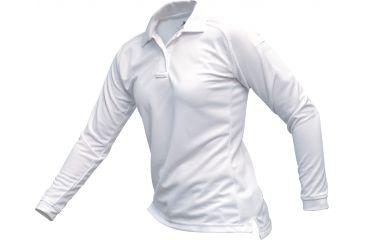 Vertx Men's Coldblack Long Sleeve Polo Shirt, White, Size 2XL VTX4020WHP-2XL