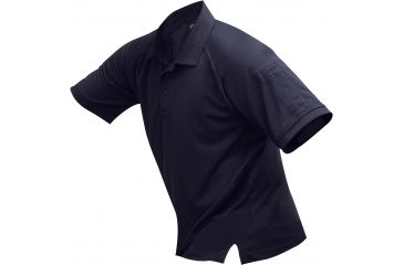 Vertx Men's Coldblack Short Sleeve Polo Shirt, Navy, Size 2XL VTX4000NVP-2XL