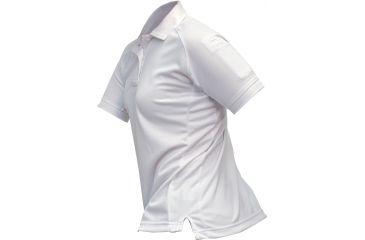 Vertx Women's Coldblack Short Sleeve Polo Shirt, White, Size Large VTX4010WHP-LARGE