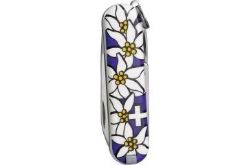 Victorinox Classic Edelweiss Swiss Army Knife Purple 54722