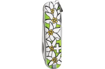 Victorinox Classic Edelweiss Swiss Army Knife Lime Green 54723