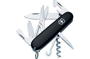 Victorinox Climber Swiss Army Knife Black 53383