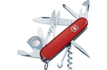Victorinox Explorer Swiss Army Knife Red 53791