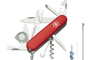 Victorinox Explorer Plus Swiss Army Knife Red 53792