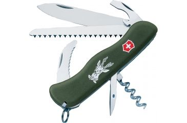 Victorinox Hunter Knives - Victorinox Swiss Army Knife, Colors Victorinox Hunter Knives - Victorinox Swiss Army Knife Olive Drab