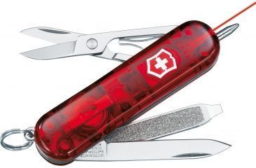 Victorinox Signature Laser Swiss Army Knife Ruby 59590
