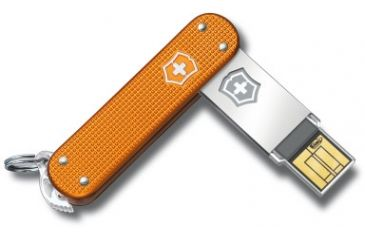 Victorinox Slim 2.0 - 16GB, Orange Alox 4.6171.28G16US2