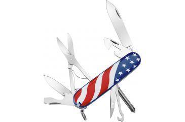 Victorinox Super Tinker U.S. Flag Swiss Army Knife - Red White Blue 53342