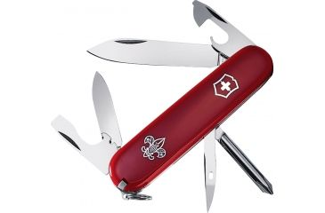 Victorinox Tinker Boy Scout Swiss Army Knife Red 55121