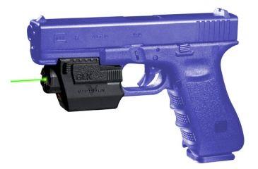 Viridian Glocks w/ Rails Green Laser GLK