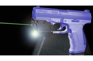 Viridian Walther P99 (Open Rail) Green Laser w/ Tactical Light