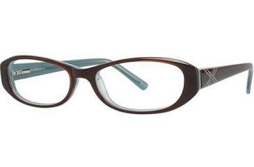 Visions 189 Eyeglass Frames - Frame Brown/Teal VIVISION18902