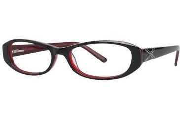 Visions 189 Eyeglass Frames - Frame Ebony/Cherry VIVISION18901