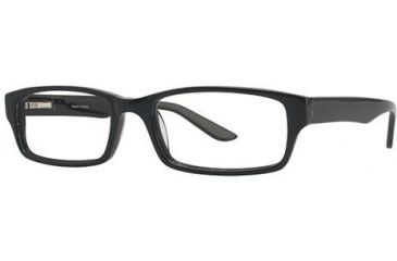 Visions 191 Single Vision Prescription Eyeglasses - Frame Black VIVISION19101