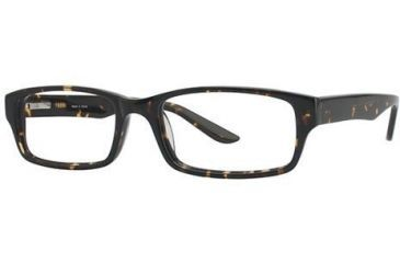 Visions 191 Progressive Prescription Eyeglasses - Frame Dark Tortoise VIVISION19102