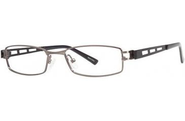 Visions 194 Progressive Prescription Eyeglasses - Frame Pewter/Silver, Size 51/17mm VIVISION19402