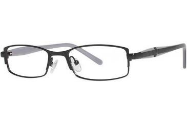 Visions 196 Bifocal Prescription Eyeglasses - Frame Black/Periwinkle VIVISION19601