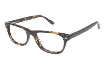 Visions 203 Bifocal Prescription Eyeglasses - Frame Tortoise, Size 49/16mm VIVISION20301