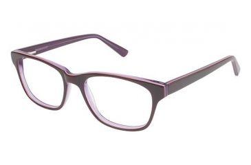 Visions 205 Bifocal Prescription Eyeglasses - Frame Burgundy / Purple, Size 51/17mm VIVISION20503
