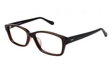 Visions 209A Eyeglass Frames - Frame Brown, Size 54/14mm VIVISION209A03
